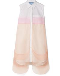 Vestito chemisier bianco di Prada