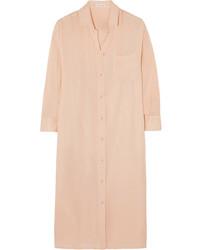 Vestito chemisier rosa