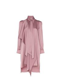 Vestito chemisier rosa di Fendi