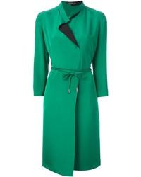 Vestito chemisier verde
