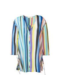 Vestito da spiaggia multicolore di Dvf Diane Von Furstenberg