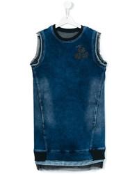 Vestito di jeans blu di Diesel