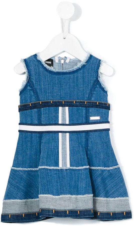 Vestito di jeans blu di DSQUARED2