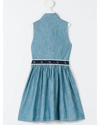Vestito di jeans blu di Ralph Lauren