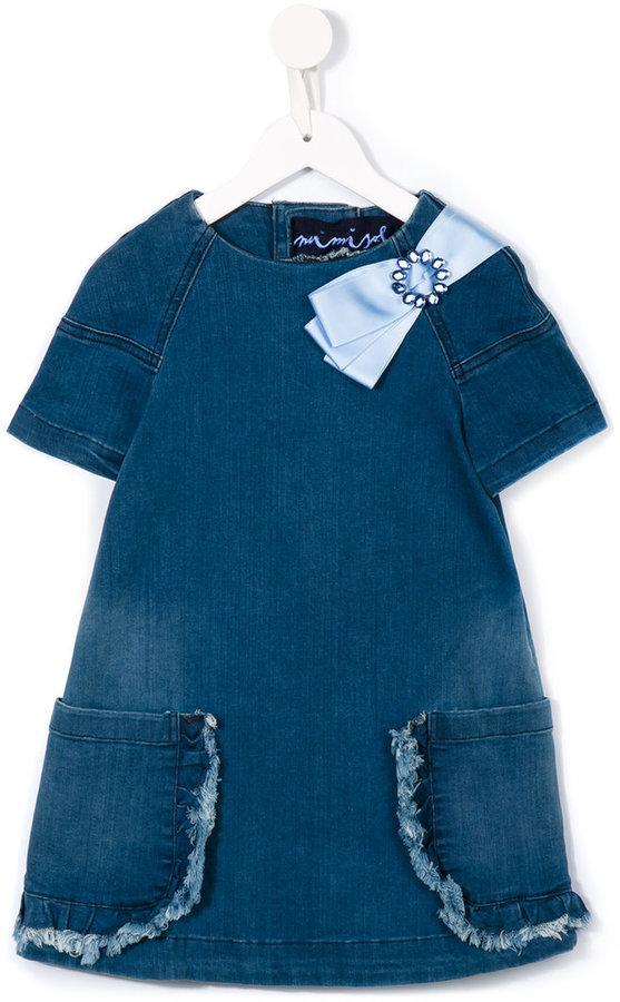 Vestito di jeans blu