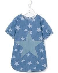 Vestito di jeans con stelle blu di Stella McCartney