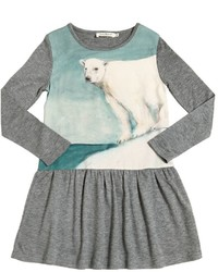 Vestito di lana grigio