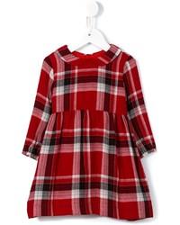 Vestito di lana scozzese rosso di Il Gufo