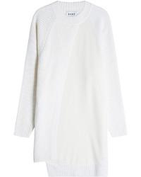 Vestito di maglia bianco
