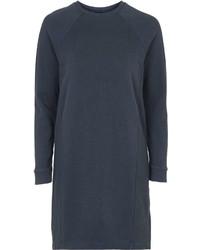 Vestito di maglia blu scuro