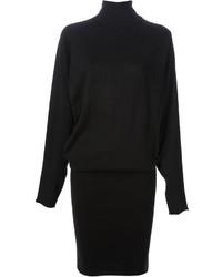 Vestito di maglia nero