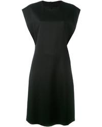 Vestito di seta nero di Jil Sander