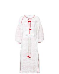 promo code 5eebd 1c117 Vestiti estivi ricamati bianchi e rossi da donna   Moda ...