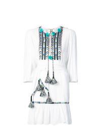 Vestito estivo ricamato bianco