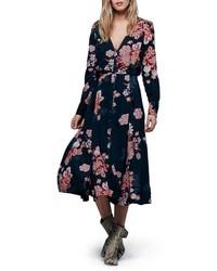 Vestito longuette a fiori original 9960820