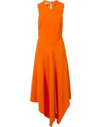Vestito longuette arancione
