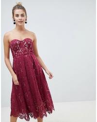 new style 26383 639d2 Vestiti di pizzo bordeaux da donna | Moda donna | Lookastic