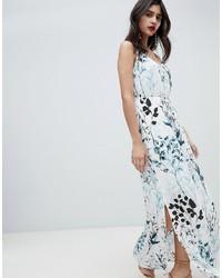 new styles e1575 a1585 Vestiti lunghi a fiori azzurri da donna | Moda donna | Lookastic