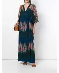 Vestito lungo a fiori multicolore di AILANTO