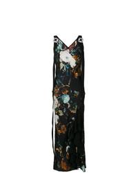 Vestito lungo a fiori multicolore di Antonio Marras