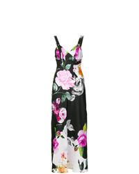 Vestito lungo a fiori multicolore di Off-White
