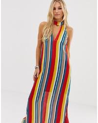 wholesale dealer a8c97 d9a5d Vestiti lunghi a righe verticali da donna | Moda donna ...