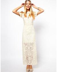 more photos 8fdec aa2f8 Vestiti lunghi di pizzo bianchi da donna di Asos | Moda ...