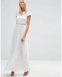 6ea50d497fd6 Vestiti lunghi di pizzo bianchi da donna di Asos