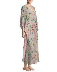 Vestito lungo di seta rosa