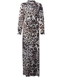 bello economico colore veloce 50-70% di sconto Vestiti lunghi leopardati neri e bianchi da donna | Moda ...