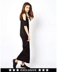 Vestito lungo nero di Cheap Monday