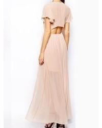 Vestito lungo rosa
