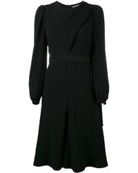 Vestito nero di Alexander McQueen