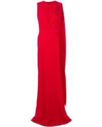 Vestito rosso di Alexander McQueen