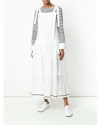 Vestito scamiciato bianco di Philosophy di Lorenzo Serafini
