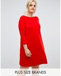 promo code 595cf df889 Vestiti scampanati di pizzo rossi da donna   Moda donna ...