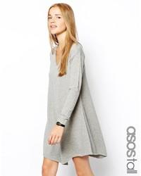 Vestito scampanato grigio di Asos