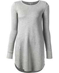 Vestito scampanato grigio di James Perse