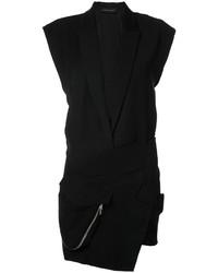 Vestito smoking nero di Alexandre Vauthier