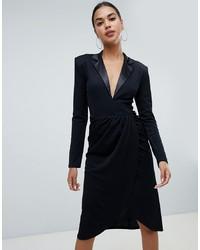 Vestito smoking nero di Club L