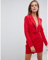 Vestito smoking rosso