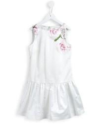 Vestito stampato bianco di MonnaLisa