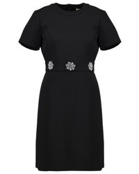 Vestito svasato nero di Michael Kors