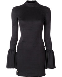 Vestito svasato nero di Philipp Plein
