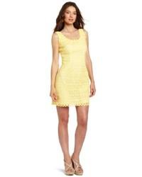 Vestito tubino giallo original 9813672