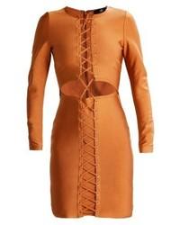 Vestito tubino terracotta di Missguided