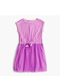 Vestito viola melanzana