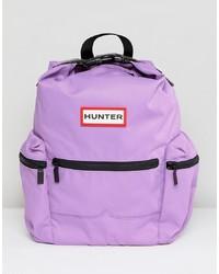 Zaino in nylon viola chiaro di Hunter